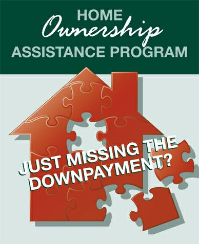 Down Payment Assistance missing piece1 CHDAP  Down payment assistance program: purchase a home with a 1/2 Percent Down!